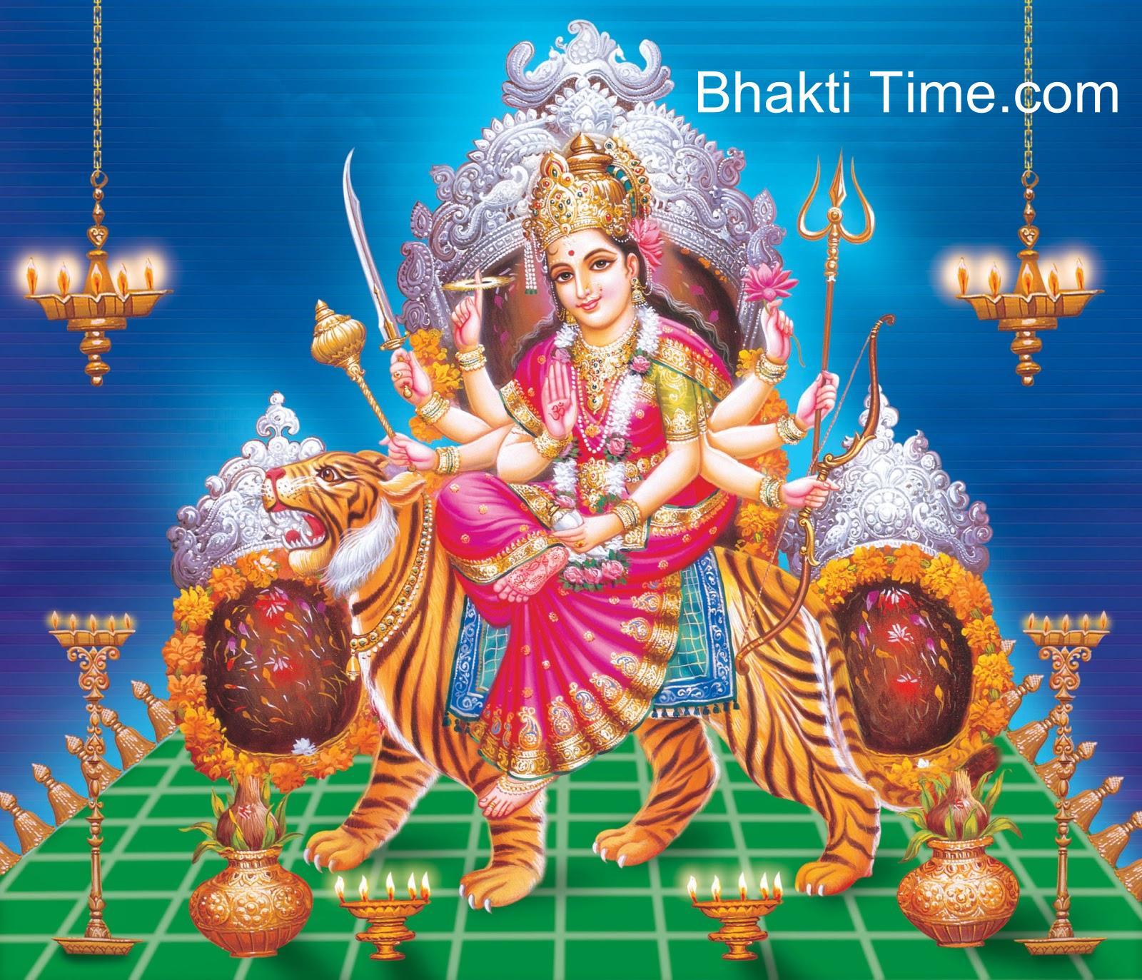 Godess Durga as Vaishno Maa